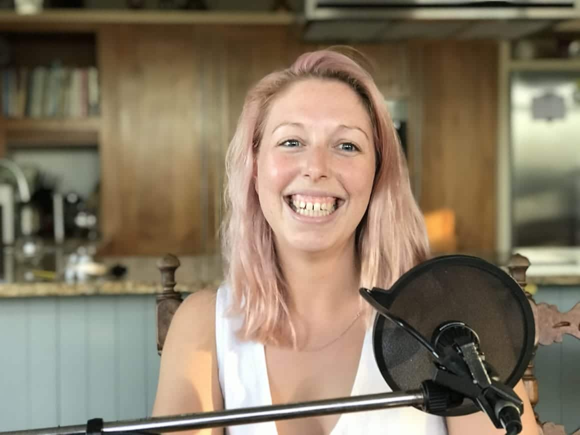 Laura. A New Zealand Tiny House Owner