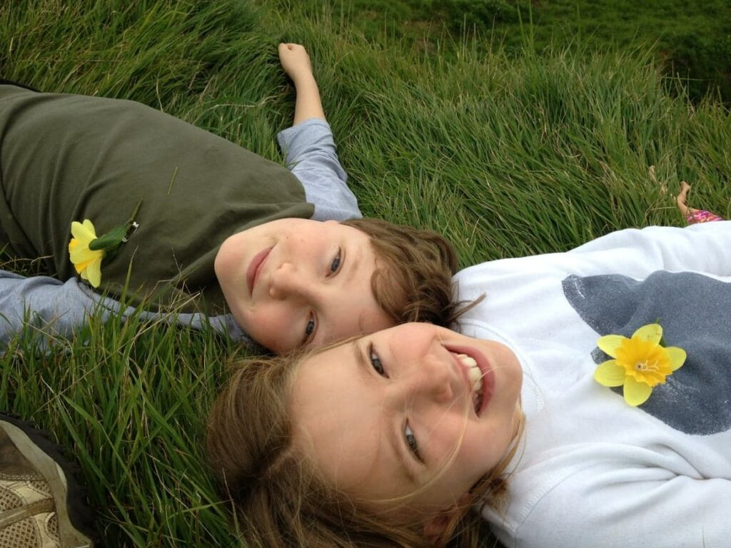 Two successful Homeschooling children