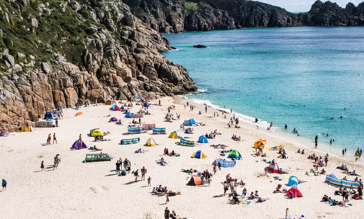 Porthcurno beach. One of the most beautiful places on earth