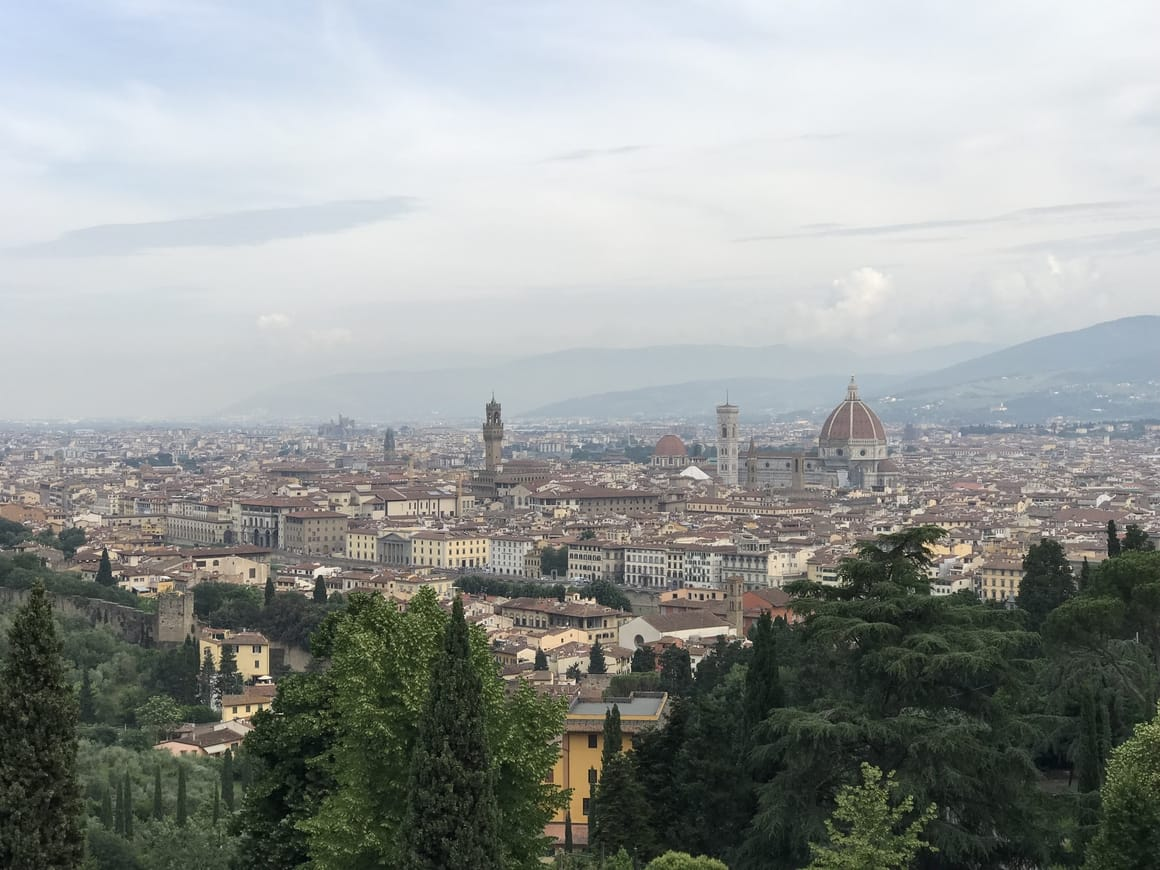 Florence. One of the most beautiful places on earth.
