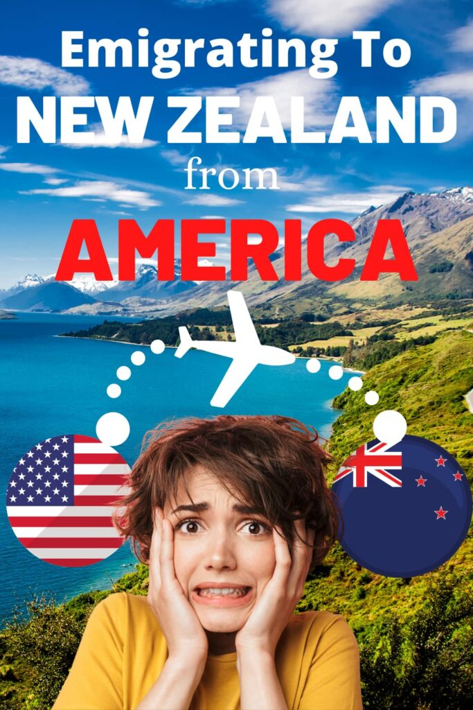 A woman who is worried about emigrating from America to New Zealand