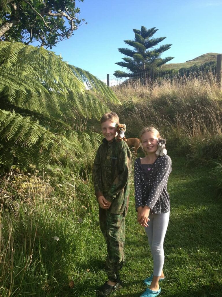 Kids in New Zealand. growing up in New Zealand