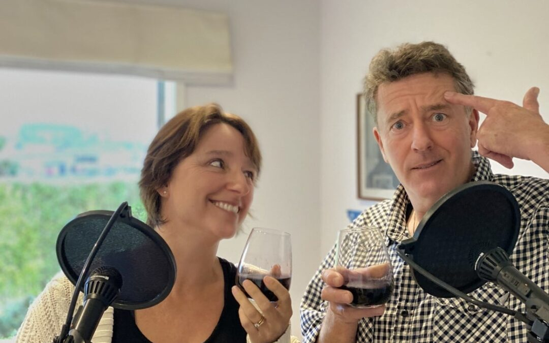 Wine O'Clock. What's on Top? Liz & Brian Discuss: Why You Need Time Alone.