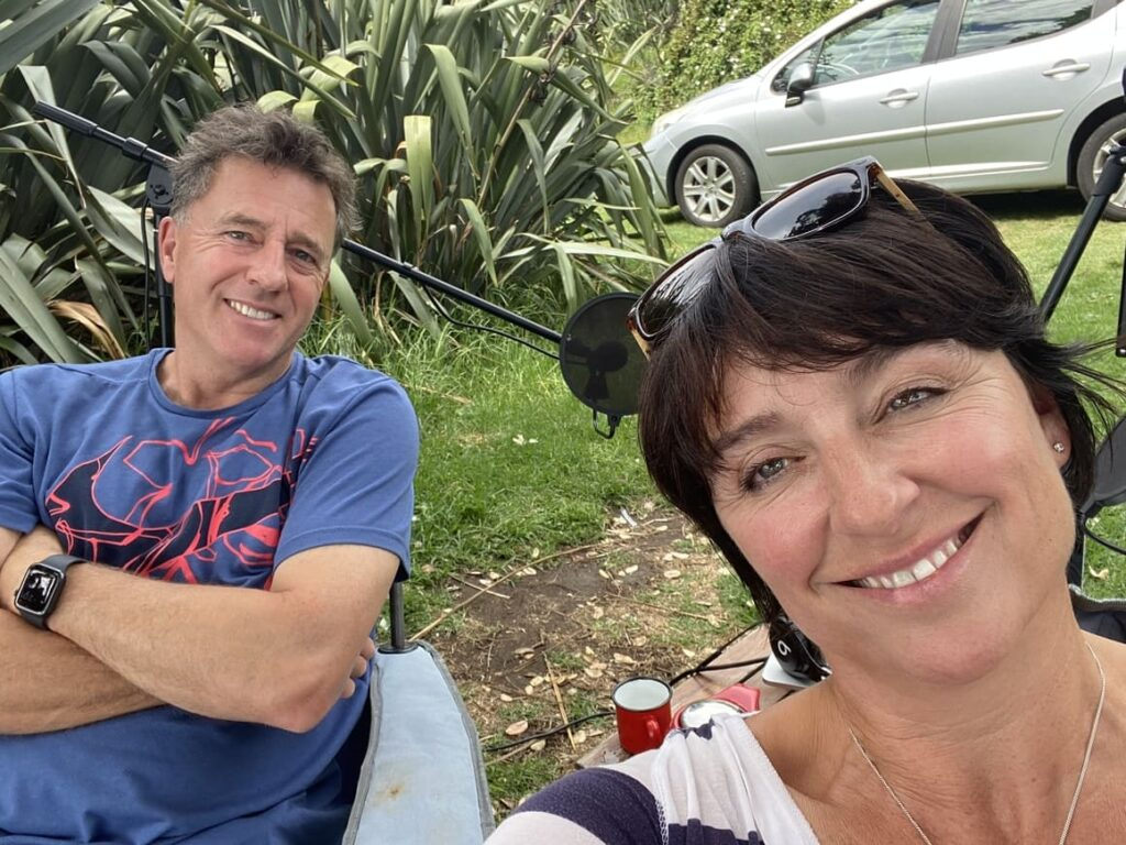 Husband and wife doing a podcast about being American and living in New Zealand