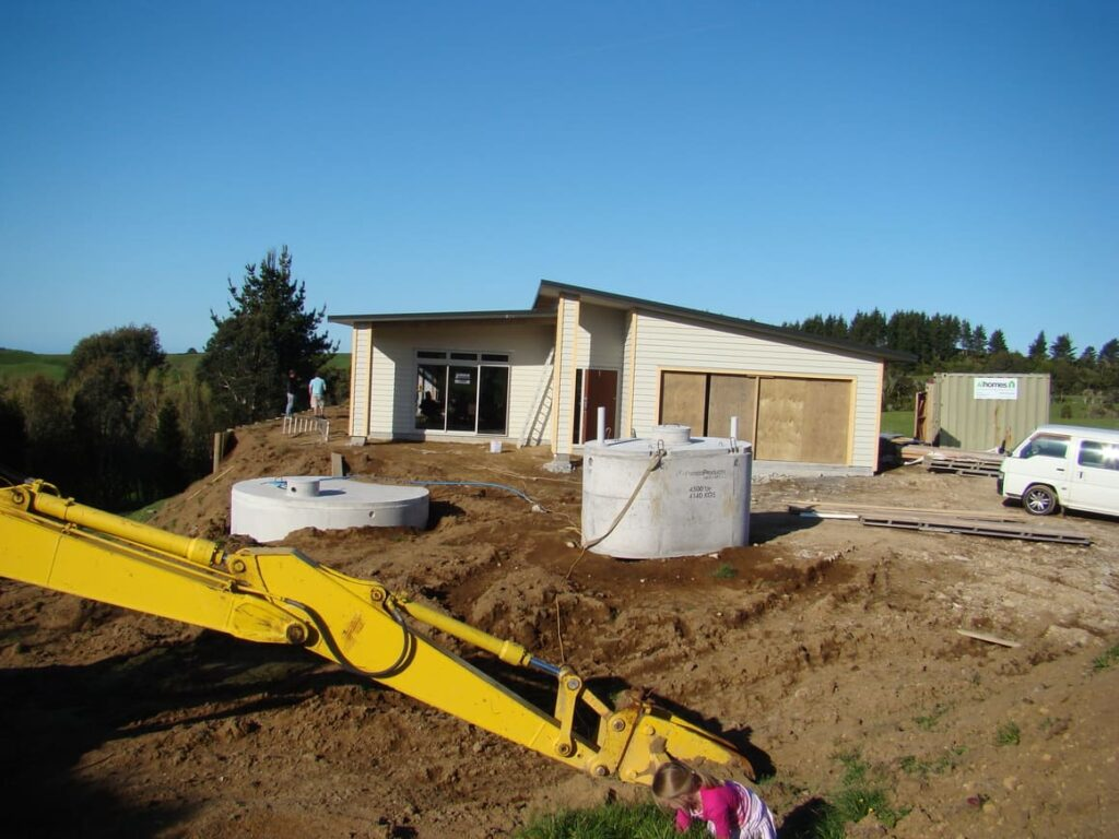 Building a house in New Zealand