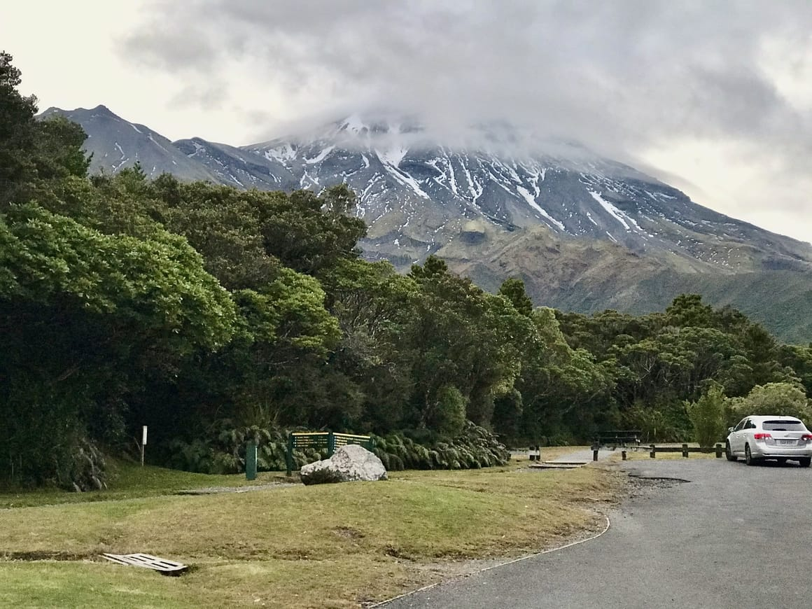 Mount Taranaki. Dawson Falls New Zealand