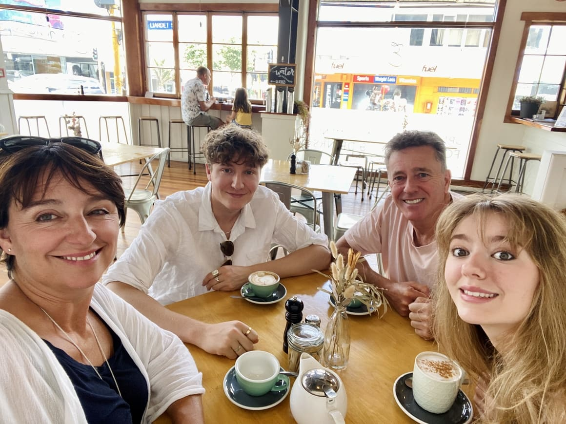 Family in New Zealand